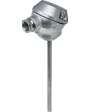 JUMO HEATtemp – Push-In RTD Temperature Probes for Heat Meters with Terminal Head for Thermowells, Type PL (902437)